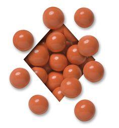 Orange Candy-Coated Dark Chocolate Malt Balls