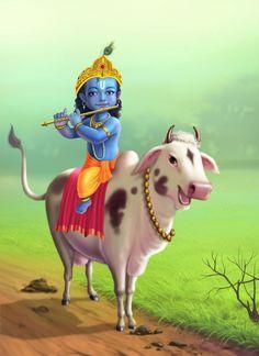 ArtStation - Little krishna, Suhas Manjrekar Krishna Janmashtami, Krishna Art, Krishna Statue, Janmashtami Images