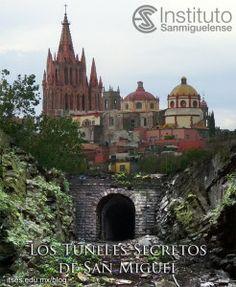 Túneles secretos de San Miguel de Allende, Guanajuato. Secret tunnels in San Miguel de Allende Positano Italy, Future Travel, Beautiful Places To Visit, Mexico Travel, Barcelona Cathedral, Places To Go, Tours, Pictures, Planes