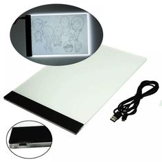 Cheap art craft, Buy Quality arte led directly from China art board Suppliers: Tracking Pad Ultra thin LED Animation Light Pad Acrylic Copy Borad Art Craft Stencil Tattoo Board Box LED Art Drawing Letters, Drawing Board, Drawing Drawing, Tatouage Ultras, Led Art, Table Tactile, Tattoo Supply, Stenciled Table, Painting Accessories