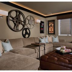 Media Room Vintage Movie Posters Design Ideas Pictures Remodel And Decor