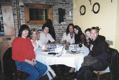 Johhny and Linda Ramone, Edddie Vedder and girlfriend, Kirk Hammett and girlfriend in NYC for the Rock And Roll Hall Of Fame circa 2002. I didn't mind being the seventh wheel.