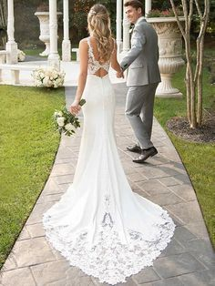 onlybridals Mermaid Boho Wedding Dresses Sweetheart Appliques Lace Chiffon Wedding Gowns Backless Bride Dress onlybridals Mermaid Boho Wedding Dresses Sweetheart Appliques Lace Chi – The Only Love Wedding Dress Off White Wedding Dresses, Chiffon Wedding Gowns, Dresses Elegant, Fit And Flare Wedding Dress, Cute Wedding Dress, Sweetheart Wedding Dress, Dream Wedding Dresses, Bridal Dresses, Wedding White