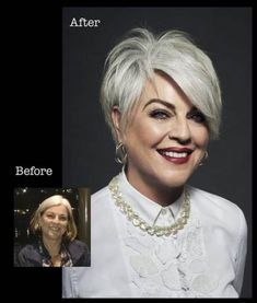 81 stunning short pixie hairstyles and haircuts page 71 81 stunning short pixie hairstyles and hairc Short Grey Hair, Short Hair With Layers, Short Hair Cuts, Long Hair, Short Hairstyles For Women, Cool Hairstyles, 50 Year Old Hairstyles, Hairdos For Older Women, Long Pixie Hairstyles