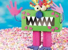 Love Goblin Valentine Box - Crafts 'n things Valentines Card Holder, Valentine Love, Valentine Boxes For School, Valentines For Boys, Homemade Valentines, Valentine Day Crafts, Happy Valentines Day, Printable Valentine, Valentine Wreath