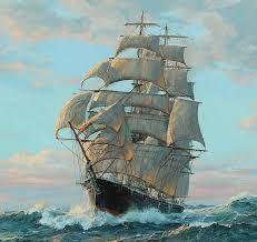 Картинки по запросу moon and ship