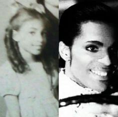 Prince's mother when she was young. Looks alot like Prince.