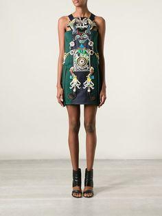 Mary Katrantzou 'tiki Man' Dress - Luisa World - Farfetch.com