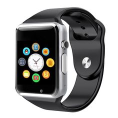 Rinsec A1 Smart Watch Clock Sync Notifier Support SIM TF Card Connectivity Apple iphone Android Phone Smartwatch  Price: 12.23 USD