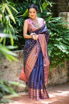 Kota Silk Saree, Tussar Silk Saree, Sari, Saree Wedding, Bridal Sarees, Wedding Bride, Indian Dresses, Indian Outfits, Saree Poses