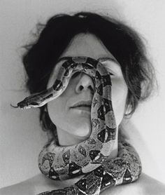 Jane Evelyn Atwood, Self Portrait