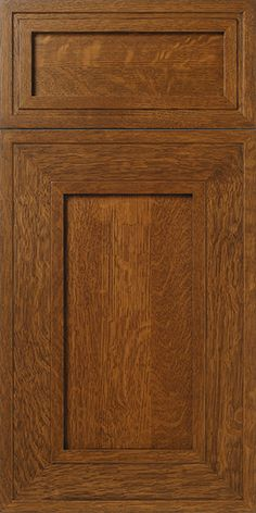 Exceptionnel S280 Insight   Quarter Sawn White Oak Mitered Cabinet Door And Drawer Front  With Brown Stain   WalzCraft