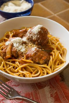 These are the meatballs you want to serve with spaghetti sauce — my mother Anne Marie Zappa's is the one I'd use, but your favorite will work as well. Key to the recipe is a light hand in the mixing. (Photo: Evan Sung for The New York Times)