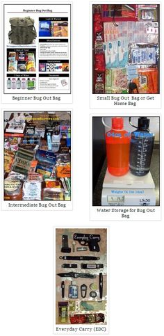 Survival Kits & Bug Out Bags | Preppers Survive | #prepbloggers #gear