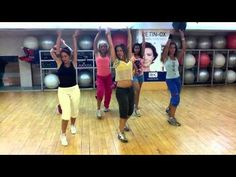 "Zumba with Salo - ""addicetd to you"" - I just think this girl is so cute"