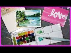 DIY Watercolor Paper Block // #worldwatercolormonth - YouTube
