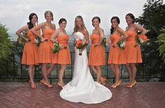 orange bridesmaids | Orange bridesmaids~shoes bridesmaid ~ Shoes 2013