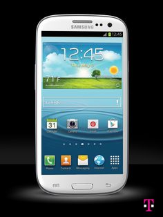 Samsung Galaxy S III | T-Mobile  I'm gonna get me one, the screen much larger than the IPhone.