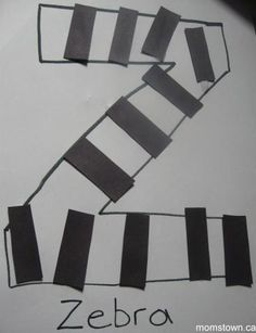Z is for Zebra stripes | momstown National