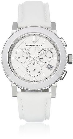 Burberry ~ The City Chronograph Watch