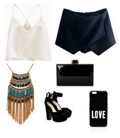 """Outfit para una cena"" by carolinagonzalez-v on Polyvore featuring moda, Leslie Danzis y Givenchy"