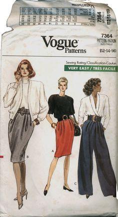 Vintage Vogue sewing pattern
