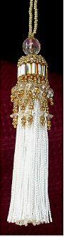 Easy & Elegant Beaded Tassel Ornament Pattern at Sova-Enterprises.com