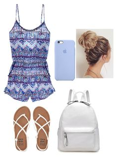 """""""School on a hot day"""" by mae1143 on Polyvore featuring Victoria's Secret and Billabong"""