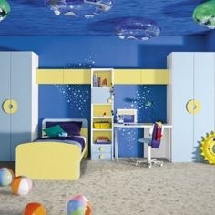 Beach room idea for young kids bawtie.com