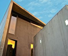 Cement, Concrete, Table And Chairs, Exterior, House Design, Architecture, Building, Arquitetura, Buildings