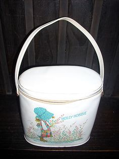VINTAGE & RARE VINYL ALADDIN HOLLY HOBBIE LUNCHBOX - I had this lunch box and loved it!