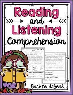 Reading and Listenin