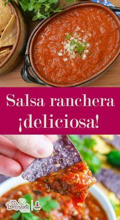 salsa ranchera   CocinaDelirante