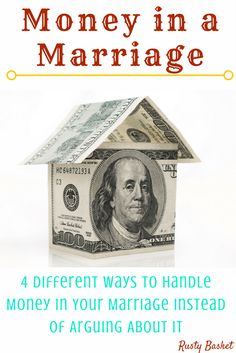 Click through to read different ways to handle your money as a married couple because the important part is being on the same page!