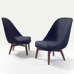 Lyndon Neri and Rossana Hu; 'Solo' Lounge Chairs for De La Espada, 2013.