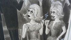 "Original New Yorker cartoon by Richard Taylor. Attempted Bloggery: #RichardTaylor: ""En Garde!"" bit.ly/1Gd9mxp Richard Taylor, New Yorker Cartoons, Art Blog, Princess Zelda, Culture, Female, The Originals, Fictional Characters, Instagram"