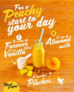 Looking for that perfect after-workout boost? Your search ends here! Check out our Peach Shake recipe below for a yummy treat that'll help you recover from those heavy duty workout sessions 😋 Forever Living Aloe Vera, Forever Aloe, Healthy Eating Habits, Healthy Life, Clean9, Forever Living Business, After Workout, Post Workout, Nutritional Cleansing