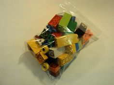 Lego Building Blocks and Accessories Multicolor Lot of 57 Plastic -- Used