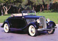 Cars 1933 Ford Cabriolet Black Fvr