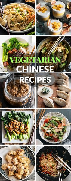 Top 15 Vegetarian Chinese Recipes – Skip the takeout with these healthy vegetari… Top 15 Rezepte für Vegetarier und Chinesen Vegetarian Chinese Recipes, Indian Food Recipes, Gourmet Recipes, Dinner Recipes, Healthy Recipes, Vegetarian Asian Recipes, Vegetarian Stir Fry, Authentic Chinese Recipes, Easy Chinese Recipes