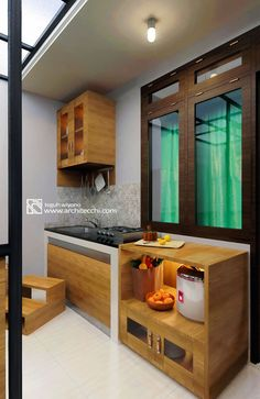 Arsitektur Desain Interior | Mini Kitchen Banung's House