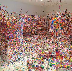 Yayoi Kusama, Obliteration Room (2002 - present),