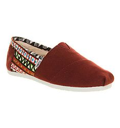 Red pattern TOMS