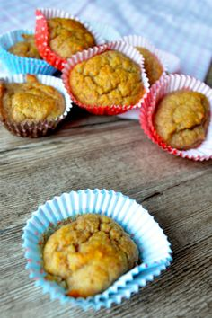 Mini Bananen-Muffins à la Paleo