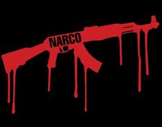 Narco Dripping Logo On American Apparel Unisex Mens Womens T-Shirt Cartel Funny Tees, Funny Tshirts, Money Clothing, American Apparel Shorts, Silk Art, Ak 47, Skate Board, T Shirts For Women, Unisex