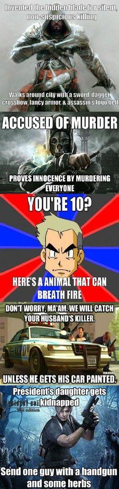 Video Game Logic.