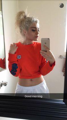 """""""Good morning"""" ~Bebe on snapchat"""