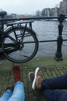 Amsterdam. Questa foto l'ho fatta con te!