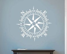 Hey, I found this really awesome Etsy listing at http://www.etsy.com/listing/152529524/compass-rose-removable-wall-art-vinyl