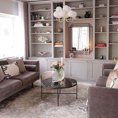 Bookshelves, Bookcase, Norman, Office Decor, Family Room, Living Room, Hem, Instagram, Home Decor